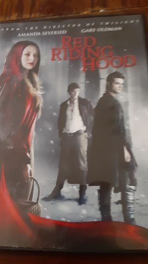 Red riding hood dvd for Sale in Grand Saline, TX