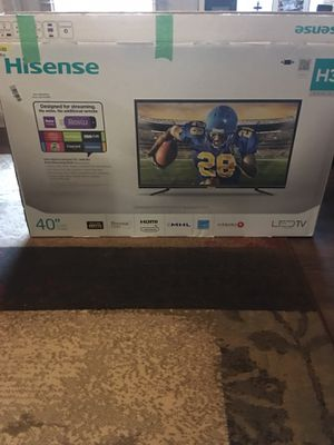 Hisense 40 inch tv used twice no remote for Sale in Huntersville, NC