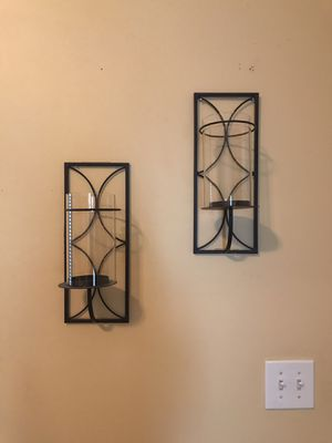 Wall candle decor for Sale in Conyers, GA
