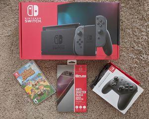New Nintendo Switch Bundle Animal Crossing for Sale in Laurel, MD