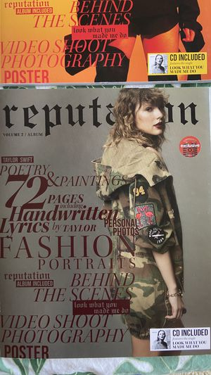 Taylor Swift reputation magazine albums vol.1&2 w posters for Sale in Los Angeles, CA