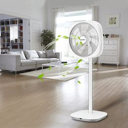 Energy Saving 3D Oscillation DC Stand Fan with Remote Control for Sale in Wildomar,  CA