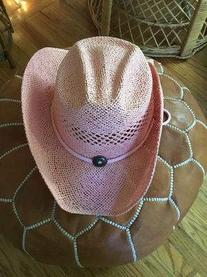 Pink Tombstone brand cowgirl hat- one size fits all for Sale in San Mateo, CA