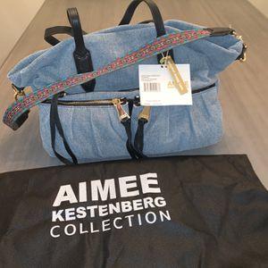 NWT Aimee Kestenberg Denim Tote for Sale in Estero, FL