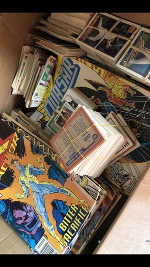 Baseball cards comic books for Sale in Grand Prairie, TX