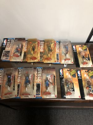 Mattel NBA superstars Action Figure Lot And headliners for Sale in Anaheim, CA