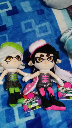 New Splatoon Callie and Marie Plush for Sale in San Pablo, CA