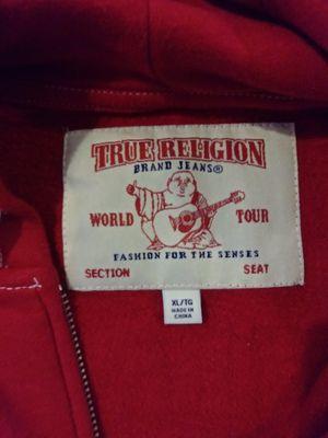 True Religion Classic Logo Zip Up Hoodie for Sale in Irvine, CA
