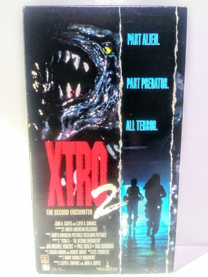 Xtro 2 The Second Encounter Horror VHS for Sale in Garland, TX