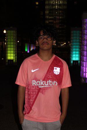18/19 Barcelona Nike Third Soccer Jersey for Sale in Alexandria, VA
