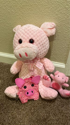 Pig stuffed animal for Sale in Clovis, CA
