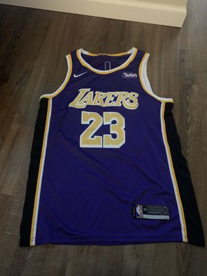 Nike Los Angeles Lakers Lebron James Jersey for Sale in Campbell, CA