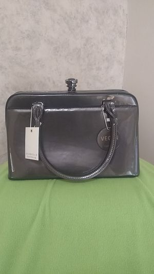 Isabelle grey patent vegan leather purse for Sale in Newton, KS