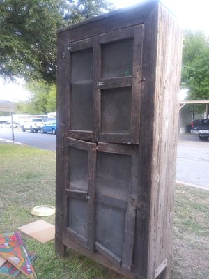 Orginal antique cabinet... for Sale in Austin, TX
