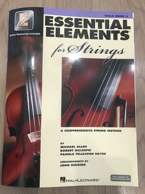 Essential Elements - Viola Book 2 NEW for Sale in Westlake, MD