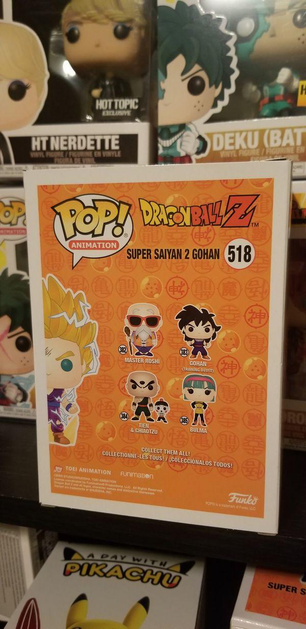 Dragon Ball Z Super Saiyan 2 Gohan Funko