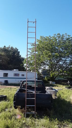 Louisville 16foot single ladder for Sale in Caldwell, ID