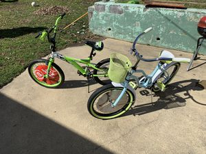 """2 Bikes 20"""" wheel size for girl and boy for Sale in Laurel, MD"""