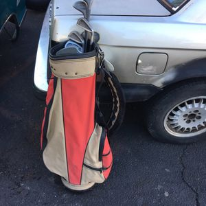 Burton Golf bag and clubs for Sale in Stratford, CT
