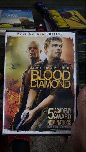 Blood diamond dvd for Sale in Bellflower, CA
