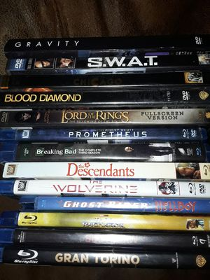 Bluray and DVD movies for Sale in Mason City, IA