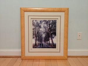 Solid wood frame with painting for Sale in Washington, DC