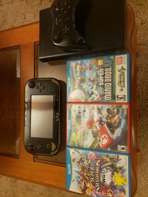 Nintendo Wii U with Games for Sale in Baytown, TX