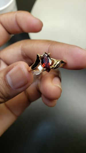 Its beautiful ring with beautiful color stone for Sale in Oliver, WI