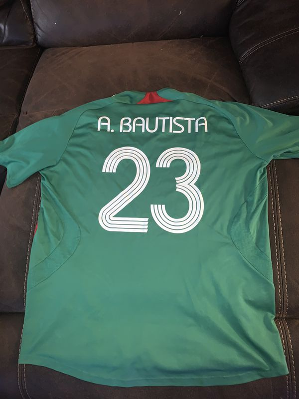 Mexico Jersey size is xl with bofo name and number in good condition