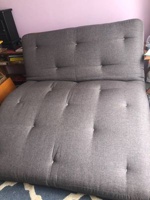 Futon mattress queen size upholstered tufted style for Sale in San Francisco, CA