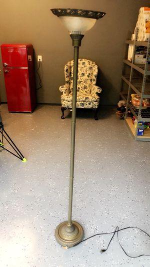 Tall Standing Uplight Metal Floor Lamp for Sale in Ashburn, VA