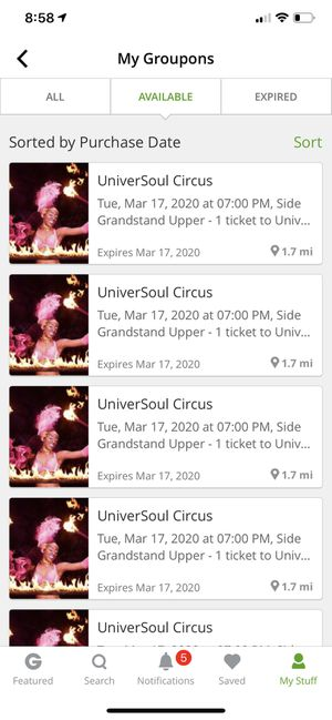 UniverSoul Circus Tickets for Sale in Simpsonville, SC