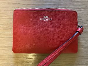 Brand New Red Coach Wristlet for Sale in Lacey, WA