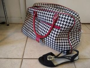 Crimson Tide houndstooth doctor's duffle bag large for Sale in Oldsmar, FL