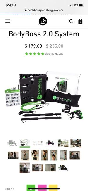 Resistance band training system for Sale in North Smithfield, RI