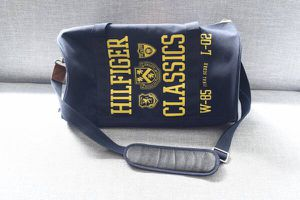 Tommy Hilfiger Navy Canvas Duffel Bag for Sale in New York, NY