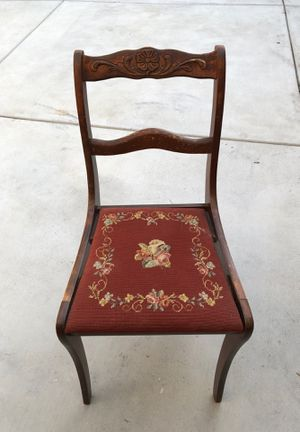 Antique Chair only $30 oBo for Sale in West Covina, CA