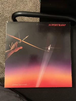 """"""" '...famous last words...' """" Record by Supertramp for Sale in Lexington, KY"""