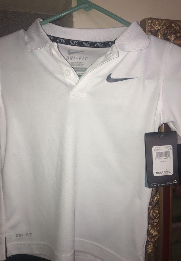 Kids Nike and chaps shirts