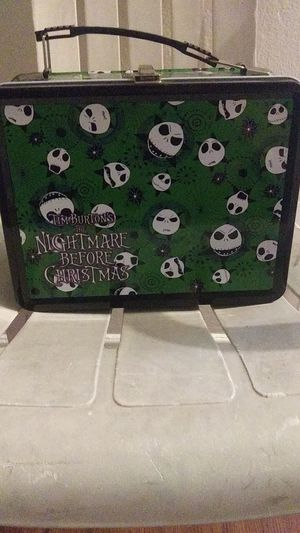 Nightmare Before Christmas lunchbox asking $15 new pay $21 for it I'm moving need it gone ASAP for Sale in San Diego, CA