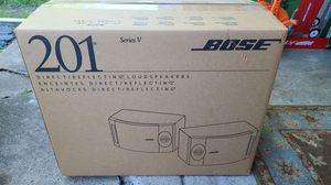 Bose 201 Series V Speaker Pair - BRAND NEW IN BOX for Sale in CARPENTERSVLE, IL