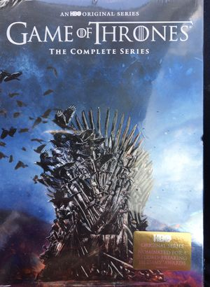 New Game of Thrones Series DVD Set for Sale in Greenville, TX