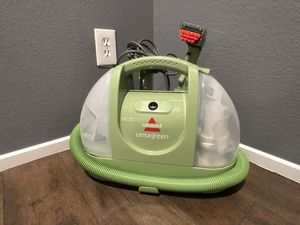 Bissell little Green machine carpet cleaner for Sale in Las Vegas, NV