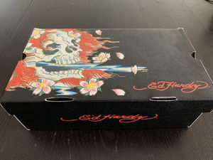 """Don Ed Hardy """"Vans"""" Skull Rose shows $100 for Sale in South San Francisco, CA"""