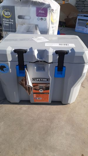 Lifetime 20 quart cooler camping for Sale in Bakersfield, CA