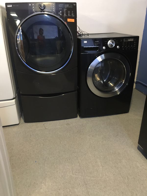 Front load washer and dryer mix match in excellent condition