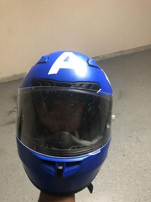 Motorcycle helmets size medium, extras for Sale in Oak Point, TX