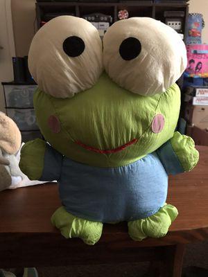 Hello Kitty Frog Keroppi Nylon Plush VINTAGE for Sale in Sylacauga, AL