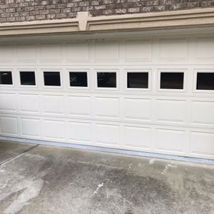 New 16x7 or 18x7 Garage Door with windows installed for Sale in Stone Mountain, GA