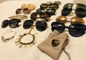 LUXURY BRAND SUNGLASSES AND JEWELRY SET for Sale in Sterling, VA